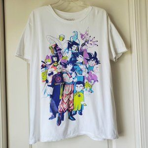 Dragon Ball Z Anime Graphic T Shirt XL Bird Studio